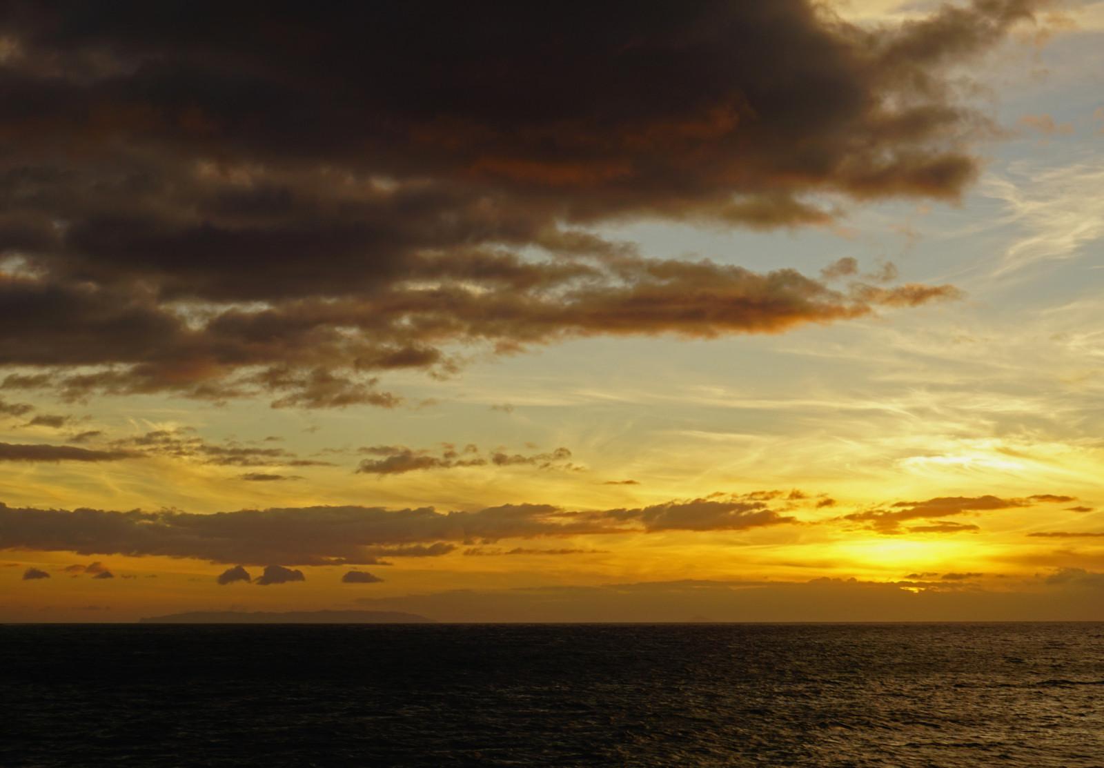 Napali Coast Sunset