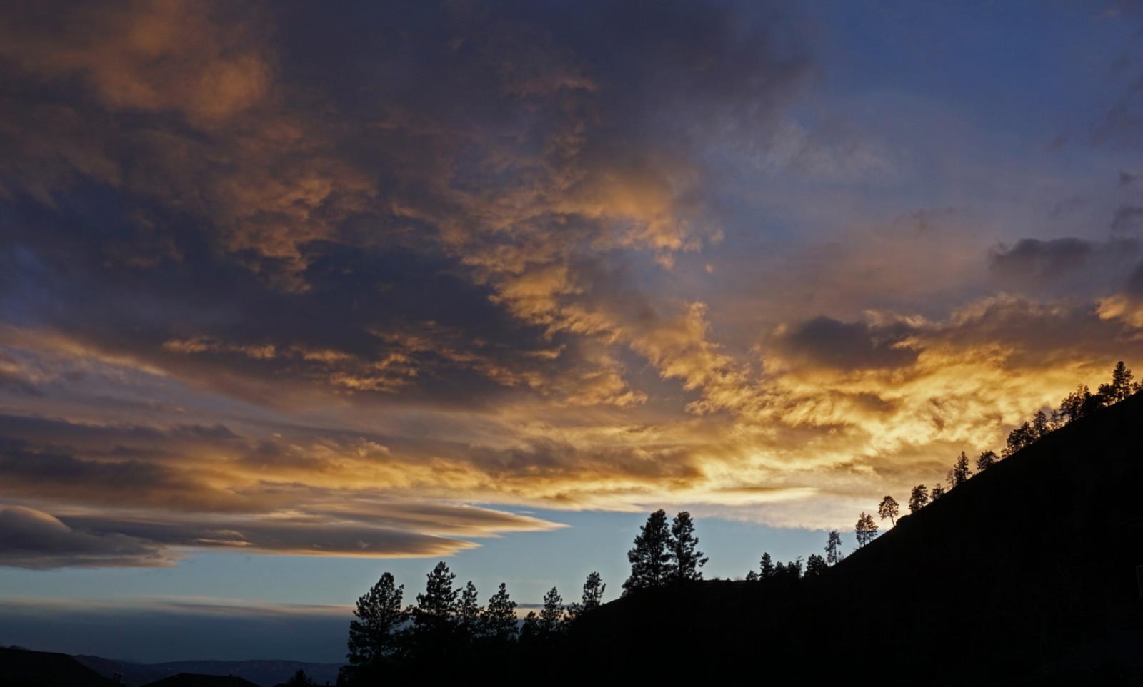 Dilworth Mountain Sunset