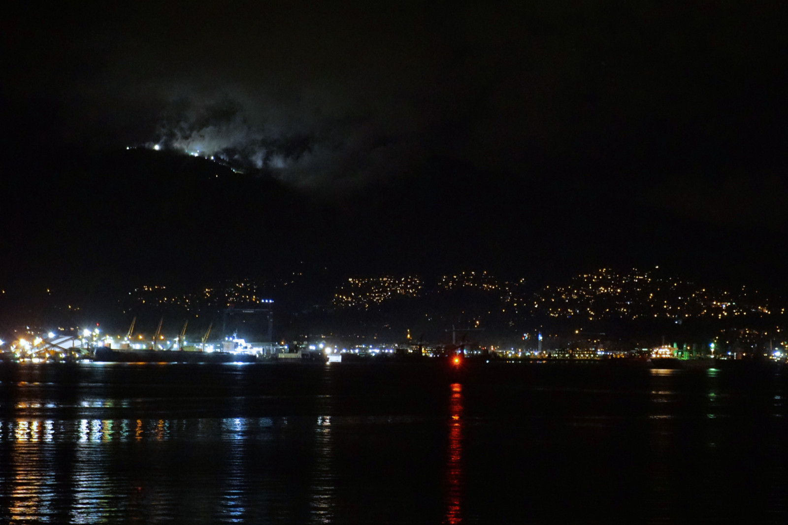 North Vancouver from Canada Place