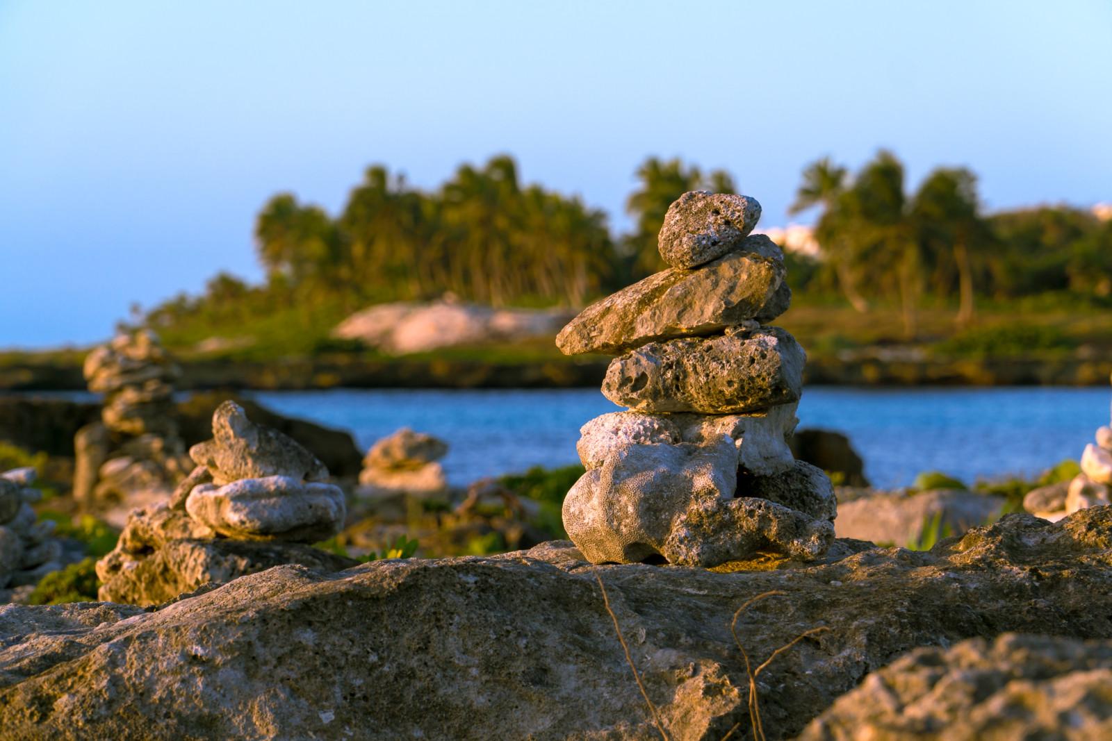 Stacked Rock Sunrise