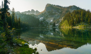 Eva Lake at Dawn